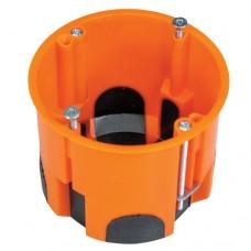 A.0081.K установочна коробка до плит з гіпсокартону вітрозахисна, глибока з гвинтами