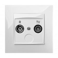 Розетка R-TV кінцева CARLA 1752-10