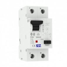 25A 30mA 2P 10kA ТИП A  пристрій захисного відключення PFB2 УЗО SEZ