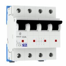 63A 400В, 3+N, 4P Вимикач-роз'єднувач  RV64 SEZ