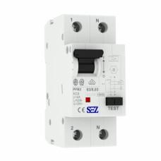 63A 30mA 2P 10kA ТИП A  пристрій захисного відключення PFB2 УЗО SEZ