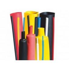 Труби тонкостінні термоусадочні, гнучкі, самозатухаючий, швидкоусадні, термостійкі +135°C - типу RCEH2S