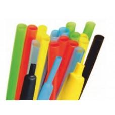 Трубки термоусадочні тонкостінні, термостійкі з клеєм, +125°C +135°C - типу RCKH1 і RCEH2KS