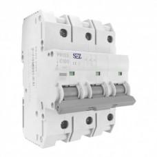 3P C100A 10kA автоматичний вимикач PR123 SEZ