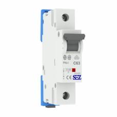 Автоматичний вимикач SEZ PR61 C63A 1P 10kA