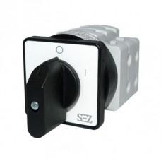 Кулачковий перемикач 0-1 3-фазний 16А 500В  (S16 JD 1103 A6) SEZ