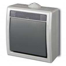 Зовнішній одноклавішний вимикач AQUANT™ 1201-10