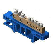 Термінальний блок 7-місний для монтажу на кріпильній дошці TH35 0920-00