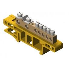 Термінальний блок 7-місний для монтажу на кріпильній дошці TH35 0920-01