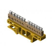 Термінальний блок 12-місний для монтажу на кріпильній дошці TH35 0921-01