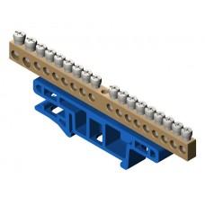 Термінальний блок 18-місний для монтажу на кріпильній дошці TH35 0922-00
