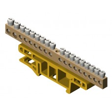 Термінальний блок 18-місний для монтажу на кріпильній дошці TH35 0922-01