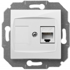 Розетка комп'ютерна CARLA 1748-10 RJ45 cat 5e