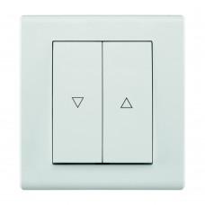 Жалюзійний вимикач, вбудований z/r 2116-00