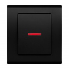 Одноклавішний вимикач з підсвічуванням, вбудований z/r 2123-09
