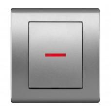 Жалюзійний вимикач з підсвічуванням, вбудований z/r 2129-06