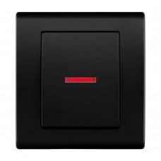 Жалюзійний вимикач з підсвічуванням, вбудований z/r 2129-09