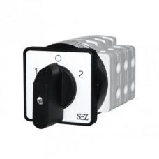 SEZ кулачковий перемикач 1-0-2 резервного живлення  3-фазний 40А  S40 JD 2203 A6